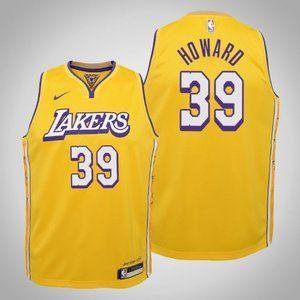 Women Lakers #39 Dwight Howard City Jersey